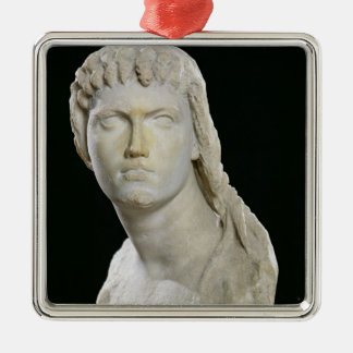 Bust of Cleopatra II or her daughter Metal Ornament