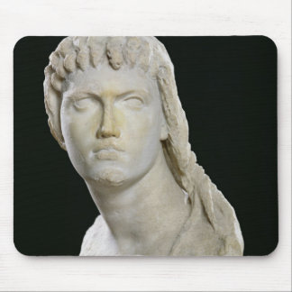 Bust of Cleopatra II or her daughter Mouse Pad