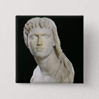 Bust of Cleopatra II or her daughter Pinback Button