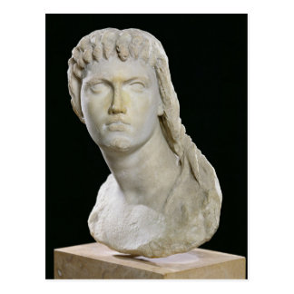 Bust of Cleopatra II or her daughter Postcard