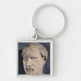 Bust of Demosthenes Keychain