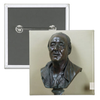 Bust of Denis Diderot  1777 Pinback Button