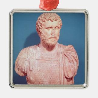 Bust of Emperor Antoninus Pius Metal Ornament