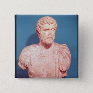 Bust of Emperor Antoninus Pius Pinback Button