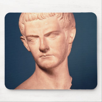 Bust of Emperor Caligula  from Thrace, c.39-40 AD Mouse Pad