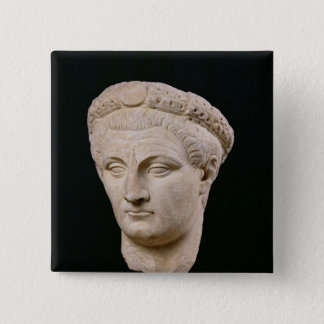 Bust of Emperor Claudius  from Thasos Button
