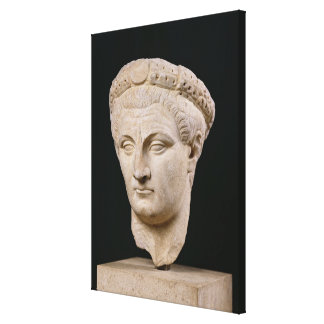 Bust of Emperor Claudius  from Thasos Canvas Print