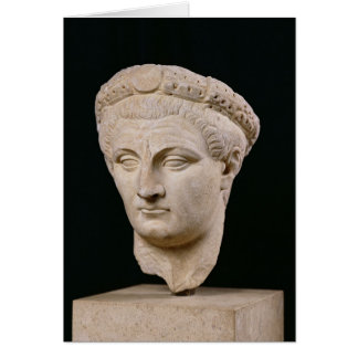 Bust of Emperor Claudius  from Thasos Card