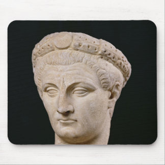 Bust of Emperor Claudius  from Thasos Mouse Pad