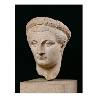 Bust of Emperor Claudius  from Thasos Postcard