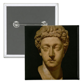 Bust of Emperor Commodus Pinback Buttons