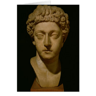 Bust of Emperor Commodus Card