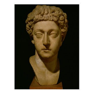 Bust of Emperor Commodus Postcard