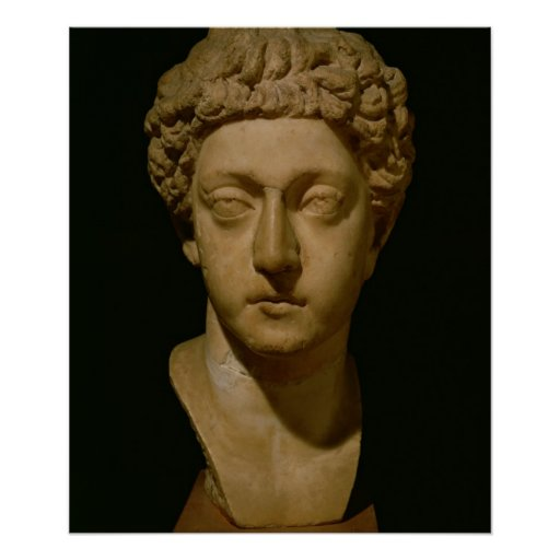 Bust of Emperor Commodus Poster
