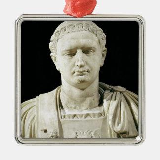 Bust of Emperor Domitian Metal Ornament