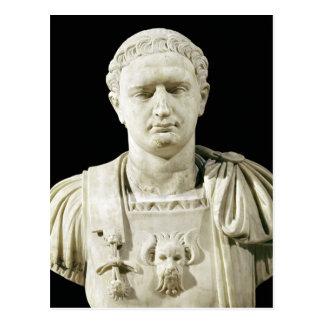 Bust of Emperor Domitian Postcard