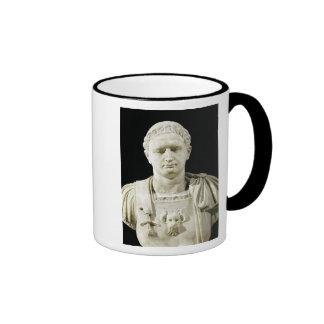 Bust of Emperor Domitian Ringer Mug