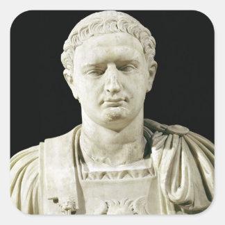 Bust of Emperor Domitian Sticker