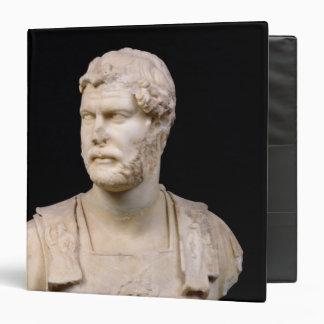 Bust of Emperor Hadrian  found in Crete 3 Ring Binders