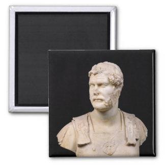 Bust of Emperor Hadrian  found in Crete Fridge Magnets