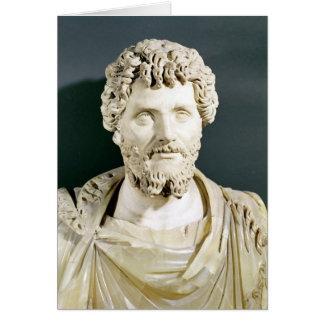 Bust of Emperor Septimus Severus Card