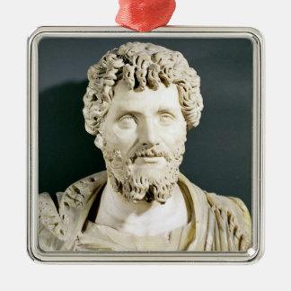 Bust of Emperor Septimus Severus Metal Ornament
