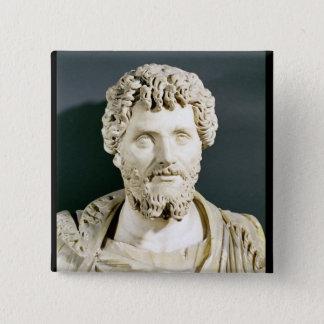 Bust of Emperor Septimus Severus Pinback Button