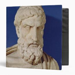 Bust of Epicurus Binder