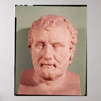 Bust of Eschinus c 480-476 BC Print