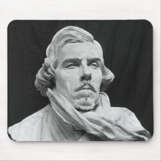 Bust of Eugene Delacroix Mouse Pad