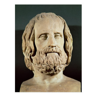 Bust of Euripides Postcard