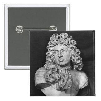 Bust of Francois de Crequy, c.1690 Pinback Button