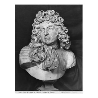 Bust of Francois de Crequy, c.1690 Postcard