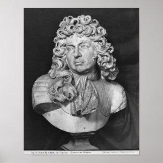Bust of Francois de Crequy, c.1690 Poster