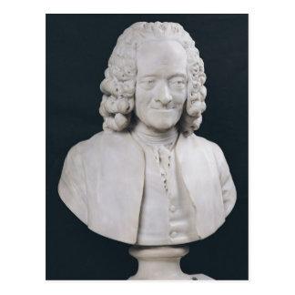 Bust of Francois Marie Arouet de Voltaire  1778 Postcard