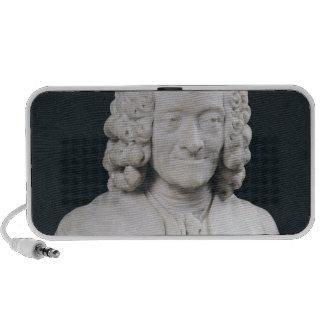 Bust of Francois Marie Arouet de Voltaire  1778 Travel Speakers
