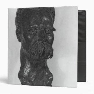Bust of Friedrich Nietzsche  German 3 Ring Binder