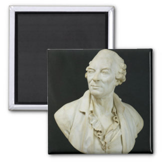 Bust of George Louis Leclerc  Count of Buffon Magnets