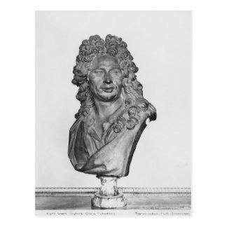 Bust of Gerard Audran Postcard