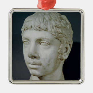 Bust of Heliogabalus Metal Ornament
