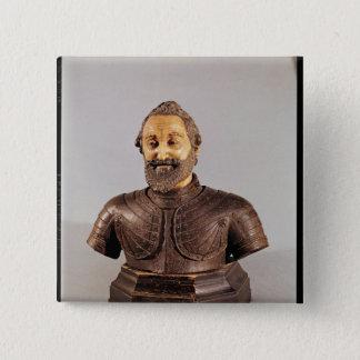Bust of Henri IV Button