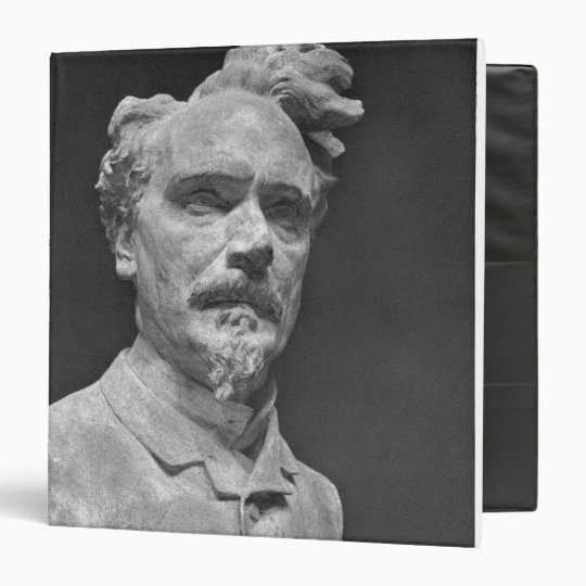 Bust of Henri Rochefort 3 Ring Binder