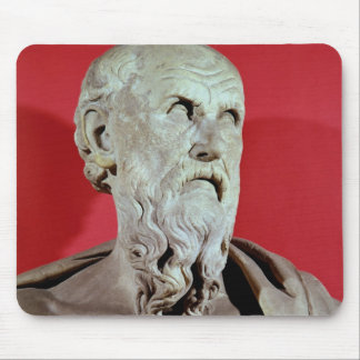 Bust of Hesiod Mouse Pad