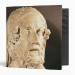 Bust of Homer, Hellenistic period 3 Ring Binders
