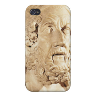 Bust of Homer, Hellenistic period Cover For iPhone 4