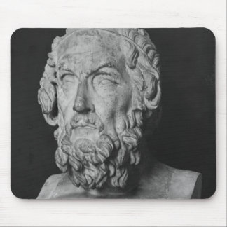 Bust of Homer, Hellenistic period Mouse Pad