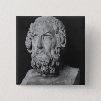 Bust of Homer, Hellenistic period Pinback Button