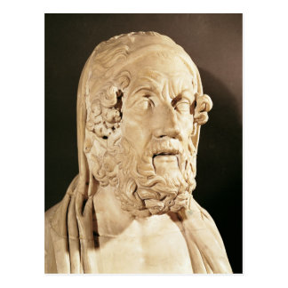 Bust of Homer, Hellenistic period Postcards