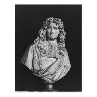 Bust of Jean-Baptiste Colbert de Torcy Postcard