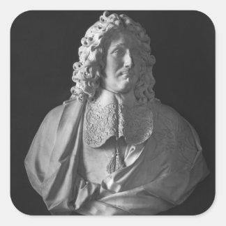 Bust of Jean-Baptiste Colbert de Torcy Square Sticker